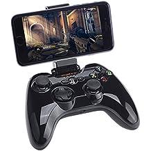 Apple MFi Certified Bluetooth Gamepad, Megadream Wireless Gaming Game Handheld Controller Joystick for Apple iPhone X 8 8Plus 7 7Plus 6S 6 5S 5 4S, iPad Air, iPad Mini, iPad Pro, Apple TV, iPod Touch