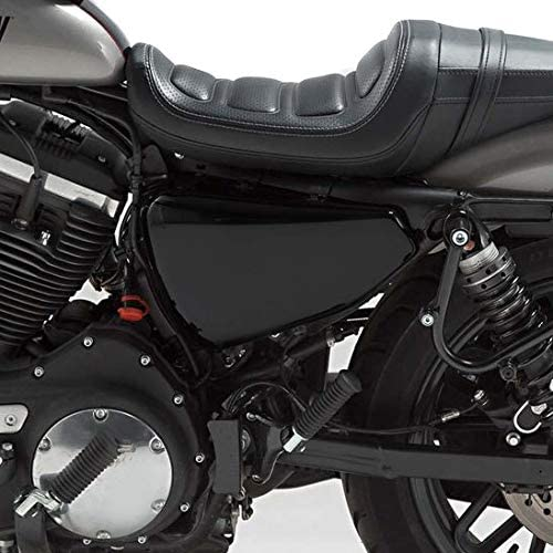 Batterieabdeckung f/ür Harley Sportster Forty-Eight 48 14-20 Seitendeckel Links