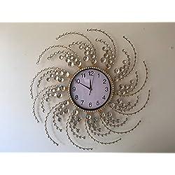 MEIDA Vintage Handmade Crystal Wall Clock (circle)2955