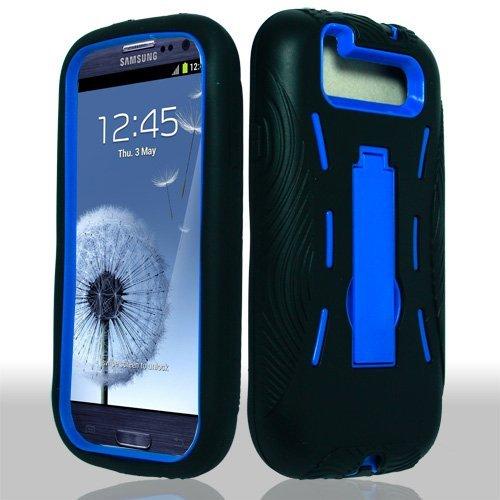 Para Samsung Galaxy S 3 III/S3/I9300 I-9300 híbrido Armor ...