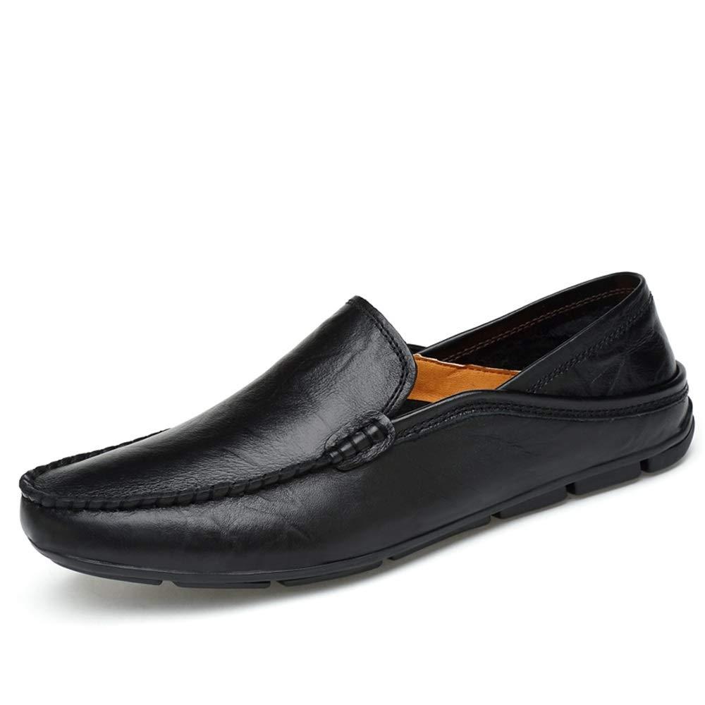 HYF Männer Oxford Schuhe Mode Fahren Müßiggänger Lässige Lässige Lässige Low-Top Slip On Einfarbig Stiefel Mokassins Lederschuhe Schuhe für Männer  c177ff