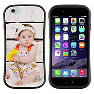 Pulsar iFace Series Tpu silicona Carcasa Funda Case para Apple (4.7 inches!!!) iPhone 6 / 6S (4.7 INCH) , Wonder lindo Kid Mother Love""