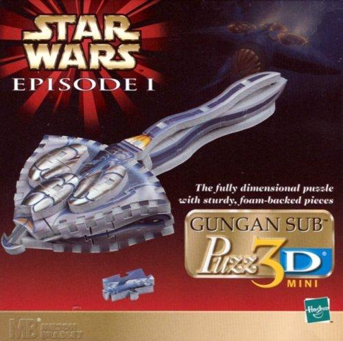 Star Wars Episode 1: Gungan Sub 3-D Mini Puzzle Wrebbit Inc mini 502