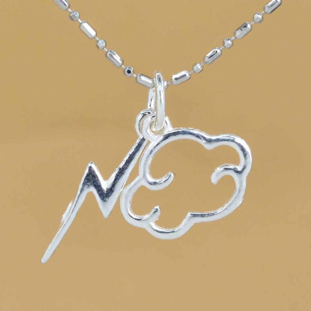 14x12MM // 18x4MM Sterling Silver Cloud and Lightning Bolt Charm #YBL/_22560 61616 1 Pcs