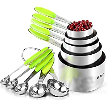 amazoncom measuring cups and measuring spoons set by