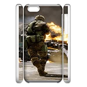Battlefield Bad Company 2 iphone 5c Cell Phone Case 3D 53Go-024248