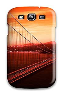 Tpu Case For Galaxy S3 With Golden Gate Bridge