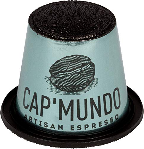 Cap'Mundo Paris Nespresso Compatible - Decaf, 100% Arabica Coffee Capsules - French Artisanal Espresso (Decaffeinated, 50 Pods for OriginalLine Machines) (Best Fruity Mixed Drink Recipes)