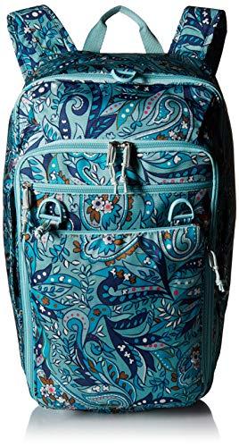 Vera Bradley womens Lighten Up Convertible Travel Bag, Polyester, Daisy Paisley, One Size (Bag Weekender Paisley)