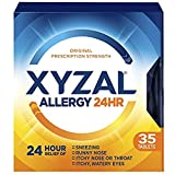Xyzal Allergy Tablet, 5Pack (55 Count Each ) Hklfed