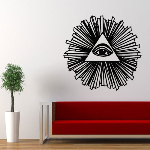 Wall Decal Decor Decals Art Sticker All Seeing Eye for sale  Delivered anywhere in USA