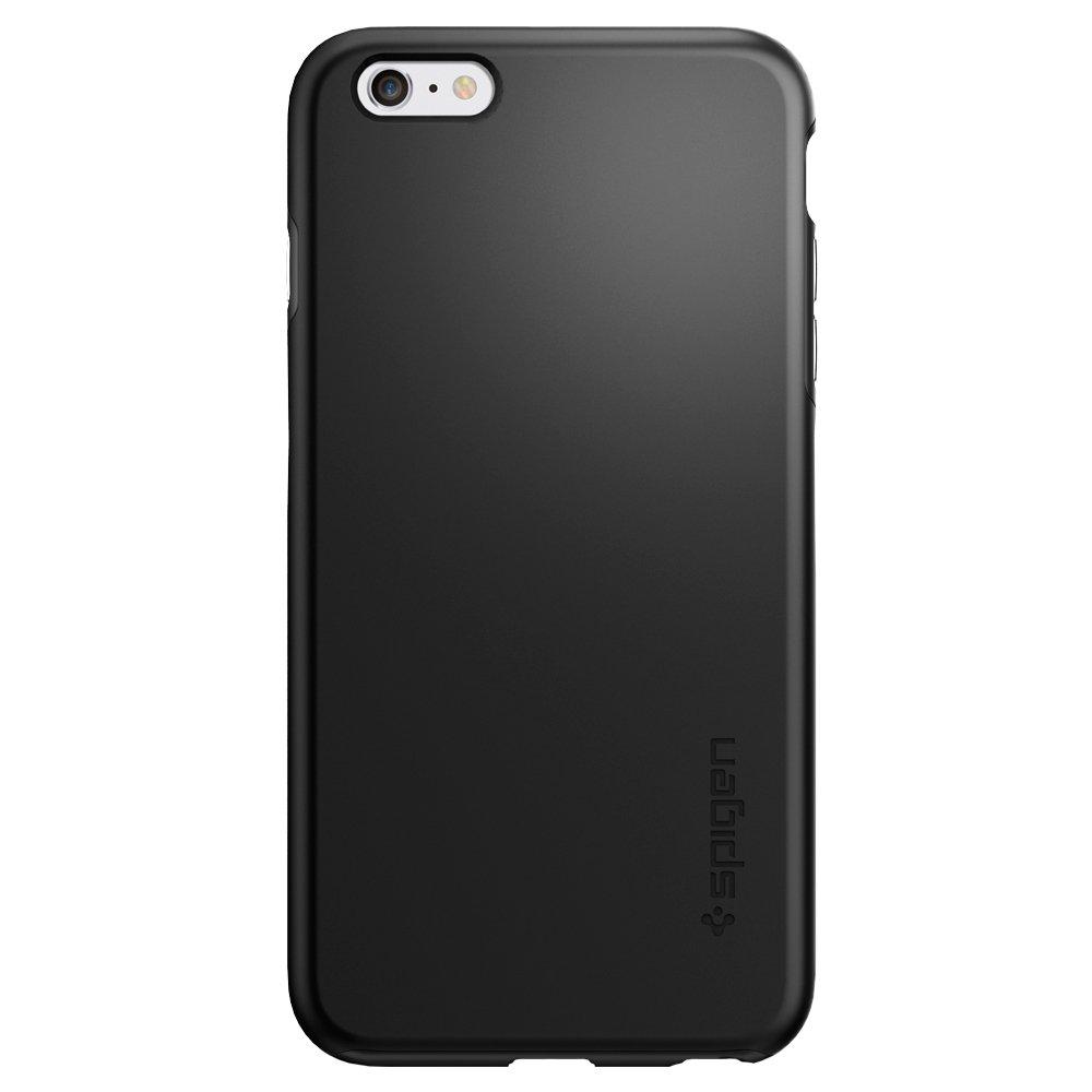 huge discount 5be64 3377d Spigen Thin Fit Hybrid Designed for Apple iPhone 6S Plus Case (2015) - Black
