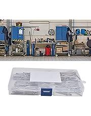 Clipe de contrapino para carro, kit de contrapinos 304 de aço inoxidável para oficina de carro para caminhão para cortador de grama