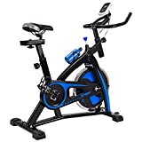 V-FIRE Indoor Cycling Bike Stationary – Exercise Cycle Bike with Water Bottle & Comfortable Seat Cushion
