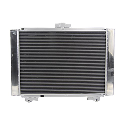 - ALLOYWORKS 3 Row Aluminum Radiator for Ford Galaxie 500 500XL Base I6 V8 1964