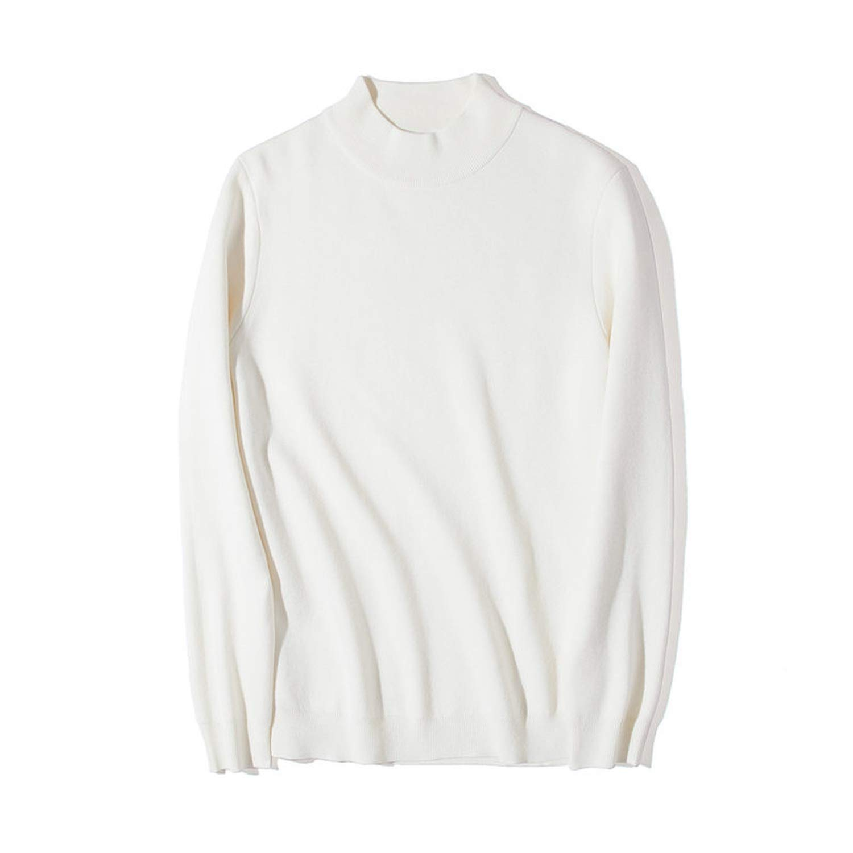 spyman Sweater Men Cotton Knitted Turtleneck Men Pullover Autumn Winter Turtle-Neck Men Sweater