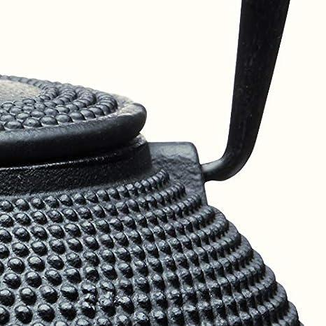 Kitchen Craft Le Xpress Teekanne 600ml aus Gusseisen in rot 12 x 17 x 22 cm Eisen