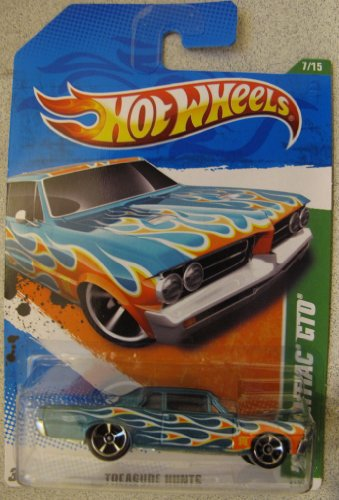 (Hotwheels 2011 Treasure Hunt- '64 Pontiac GTO)