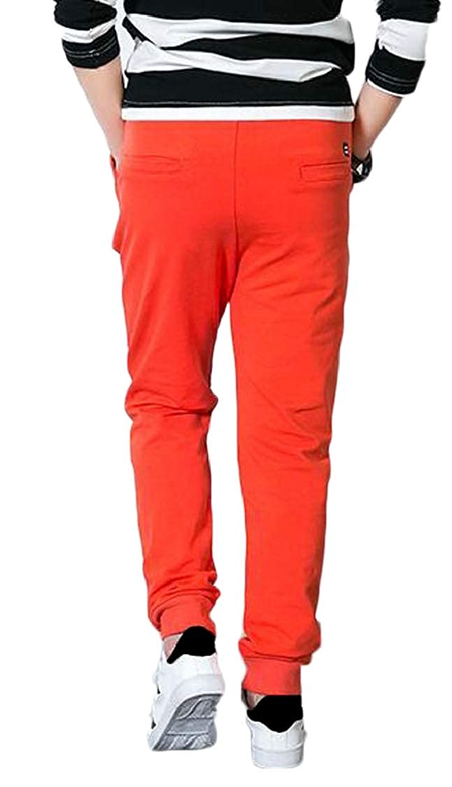 pipigo Boys Slim Outdoor Sweatpants Jogger Sports Cute Pants