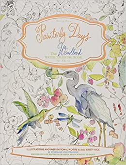 Amazon.com: Painterly Days: The Woodland Watercoloring Book for ...