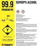 Isopropyl Alcohol 99.9% (IPA) - Laboratory-Grade