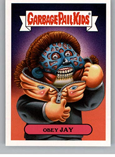 2018 Topps Garbage Pail Kids Oh The Horror-ible 80s Sci-Fi Sticker B NonSport #2B OBEY JAY ()