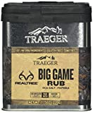 Traeger Signature Spices SPC180 Real Tree Big Game Rub Dry