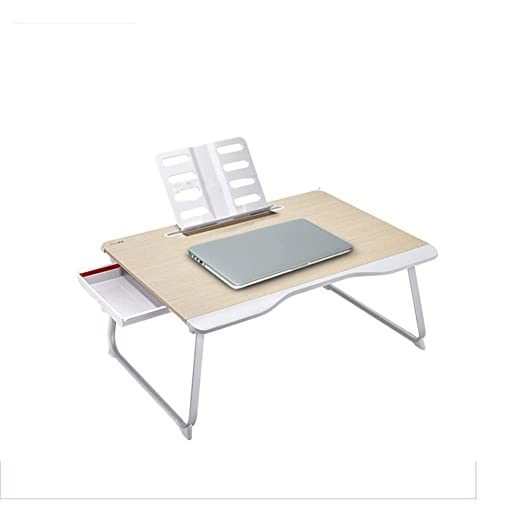 mesa plegable ZZHF Escritorio, Dormitorio con Mesa para Laptop ...