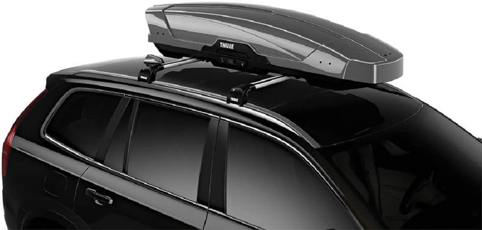 Thule Motion 600 Roof Box Silver Amazon Ca Automotive