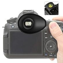 First2savvv Premium Quality DLSR Cameras Rubber Eyepiece Eyecup Magnifying Eyepiece for Nikon D750 D610 D600 D500 D300S D7200 D7100 D7000 D90 D5500 D5300 D5200 D5100 D5000 D3400 D3300 D3200 D3100 D700 D300 D200 D100 D80 D70 D60 D70 D60 DSLR Camera, with a gradienter, QJQ-TX-P-P01