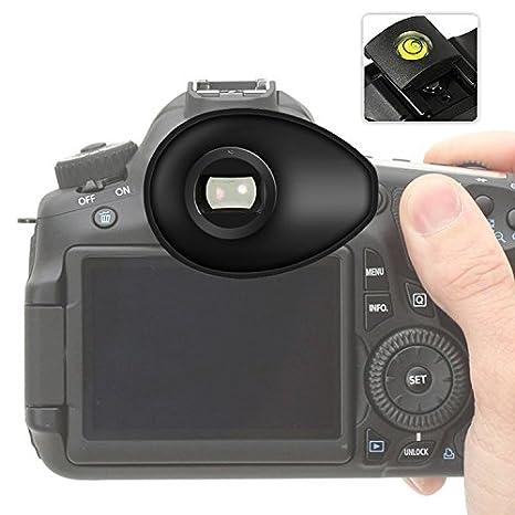 First2savvv - Portaocular de goma de visor para cámara réflex ...