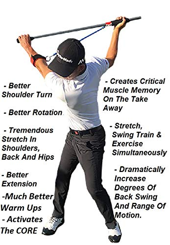 Most Important Stretch In Golf - MISIG - Golf Training Aid and Golf Swing Trainer Device