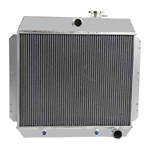 1951 Sedan Chevy - CoolingCare 4 Row Aluminum Radiator for 1949-1954 Chevy Cars, Bel Air Sedan Delivery Styleline 3.5L 3.8L 3.9L