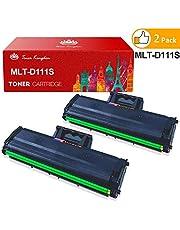 MLT-D111S, Toner Kingdom MLT D111S Compatible para Samsung MLT-D111 Cartucho de Tóner para Samsung Xpress M2070 M2026 M2020 M2022 M2070W M2026W M2020W M2022W M2070FW Negro - 2 Paquetes