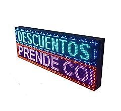 PANTALLA LED PROGRAMABLE LETRERO LED PROGRAMABLE CARTEL LED ...