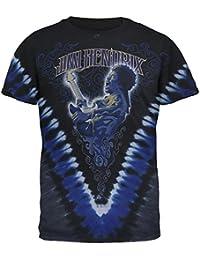Purple Haze V Dye Mens T Shirt