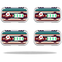 Skin For DJI Phantom 3 Drone Battery (4 pack) – Southwest Stripes | MightySkins Protective, Durable, and Unique Vinyl Decal wrap cover | Easy To Apply, Remove, and Change Styles | Made in the USA