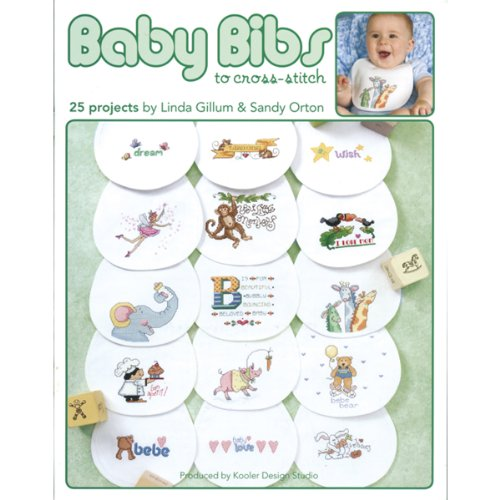 Baby Bibs To Cross Stitch: 25 Projects