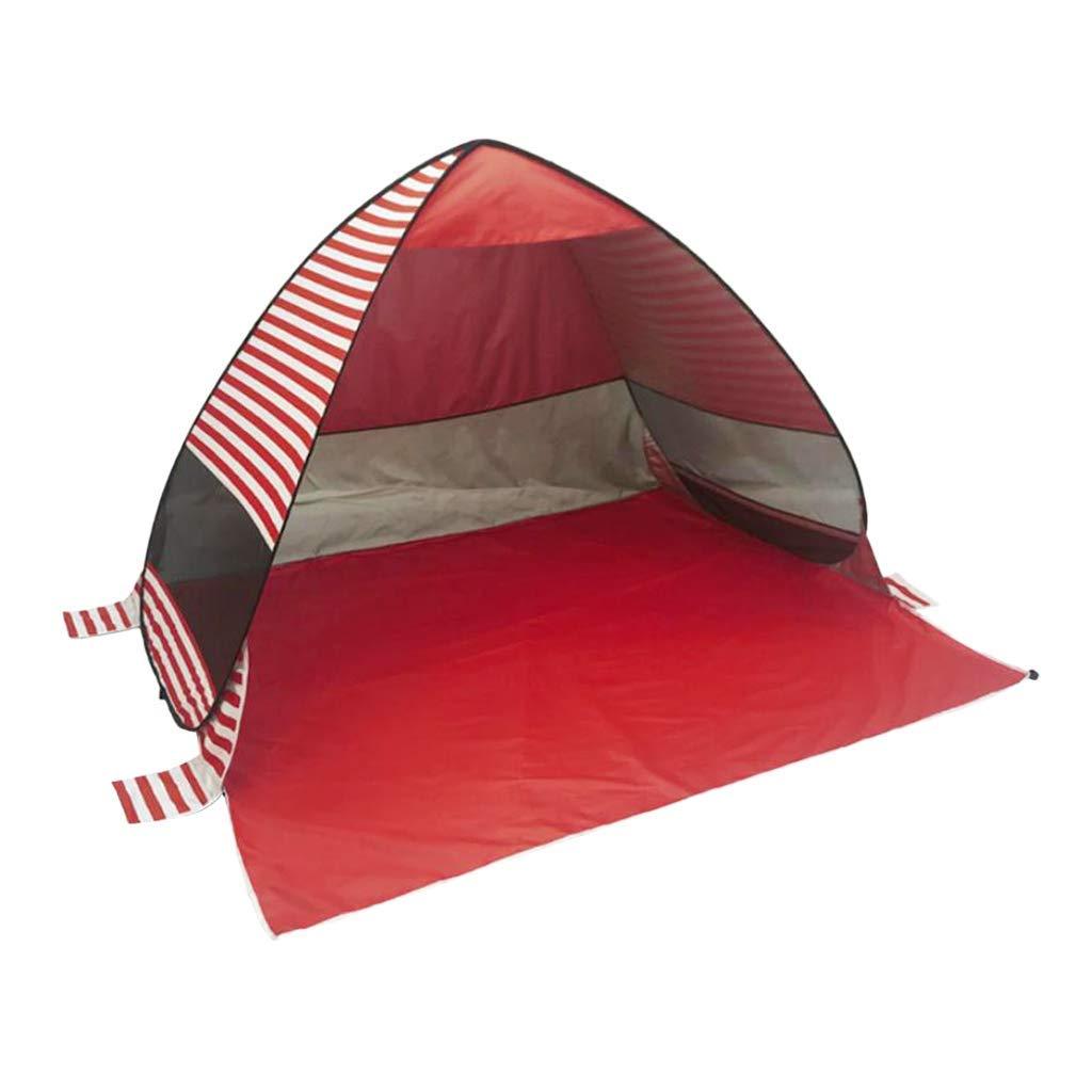 Backbayia 165 x 200 x 130 cm Pop Up Beach Zelt//Camping Zelt aus 190T Polyester Sonnen und UV-Schutz