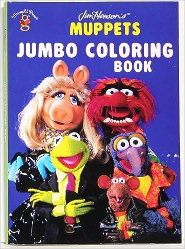 Jim Henson\'s Muppets Jumbo Coloring Book: 9781592260171: Amazon.com ...