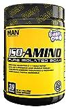 MAN Sports Iso-Amino BCAA Powder, Grape Bubble Gum, 210 Gram Review
