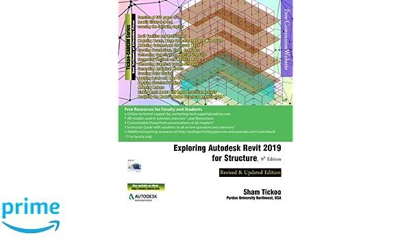 Exploring Autodesk Revit 2019 for Structure, 9th Edition