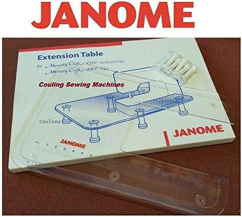 Original JANOME Sew mesa de extensión para máquina de coser 5900QC ...