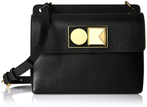 Textured Leather Kiely Bag Robin Orla Black qAxwHS6067
