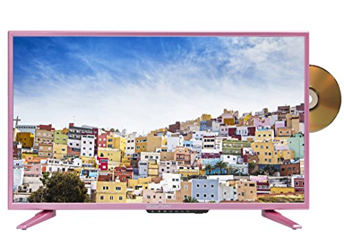 "Sceptre E328PD-SR 32"" 720p LED TV (2018), Girl Pin..."