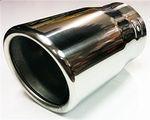 FINISHING STAINLESS STEEL TAIL PIPE REPLACING RUSTY OLD EXHAUST TIP 45mm to 60mm AutoPower