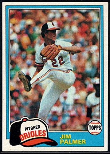 Baseball MLB 1981 Topps #210 Jim Palmer Orioles (Palmer Card Jim)