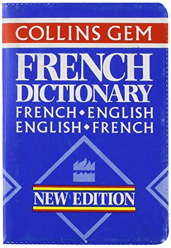 Collins Gem French Dictionary: French-English English-French (Collins Gems)