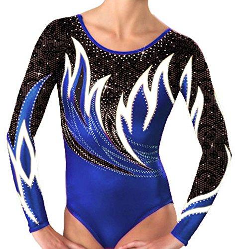 Demi Women's Gymnastics Competition Leotards Rhinestone T...