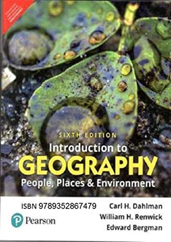 Introduction To Geography: People Places And Environment, 6Th Edn